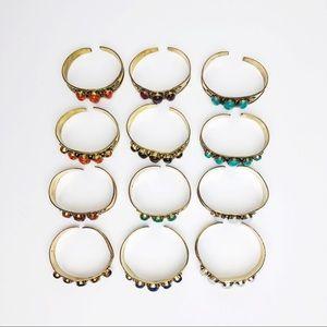 Urban Outfitters Jewelry - Boho Tiger Eye Bracelet Cuff